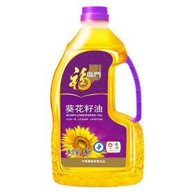 福临门 压榨一级葵花籽油 1.8L瓶 健康食用油
