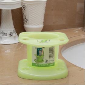 日本原装进口牙刷牙膏收纳架