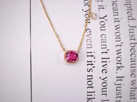 COVET MODE & LONIT   18k18k尖晶石钻石项链