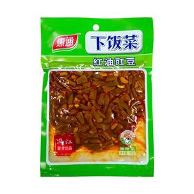 惠通红油豇豆下饭菜榨菜咸菜开胃菜酱菜泡菜120g袋