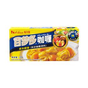 好侍百梦多咖喱 辣味块状咖喱调味料