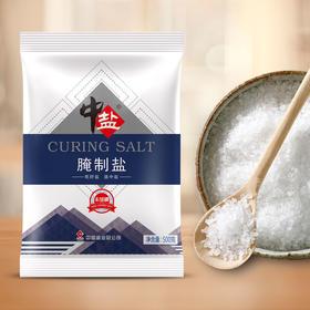 中盐无碘腌制盐整件装500g粗盐大粒盐食用海盐泡菜盐巴海盐