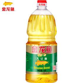 金龙鱼大豆油1.8L瓶装 精炼一级植物油色拉油食用油小瓶烘焙蛋糕