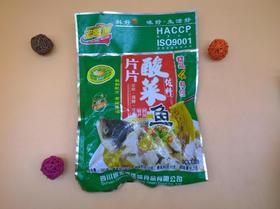 宏腾片片酸菜鱼佐料酸汤鱼做水煮鱼调料鱼火锅包鱼底料泡鱼汤