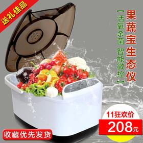 锐智家用洗菜机全自动果蔬清洗机臭氧消毒解毒机洗水果蔬菜生态仪