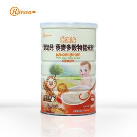 禾泱泱Rivsea台湾婴儿米粉钙铁锌藜麦多谷物糙米粉宝宝粥辅食250g