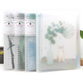 古风a5活页本夹笔记本文具 可拆卸b5记事本小清晰 复古学生日记