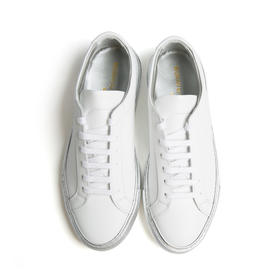 COMMON PROJECTS   白色拼银色板鞋