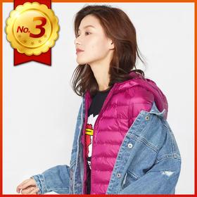 1件=3件毛衣?比1个苹果还轻,韩国 VVC 超轻羽绒服,显瘦保暖,大人、孩子都能穿!