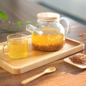 【买一送一】大凉山黑苦荞胚芽茶,低温烘培 馥郁麦香 清甜醇厚
