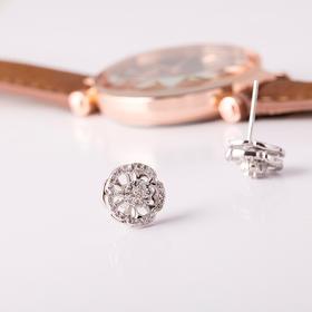 花漾转运五色花 项链戒指耳钉