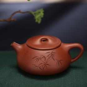 紫砂七老-大石瓢壶
