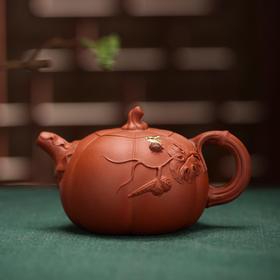【毛本新作品】紫砂七老-南瓜壶