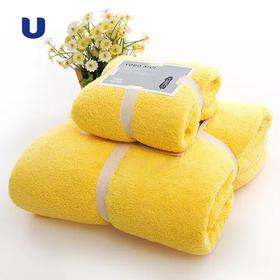 半岛优品 | 买送同款毛巾 强吸水速干高密度珊瑚绒 出口日本 yodoxiui浴巾 立送同款柔软毛巾