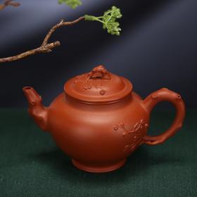 【吴江建作品】紫砂七老-报春壶