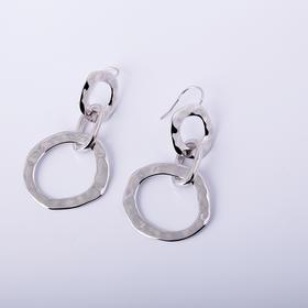 造物  时尚圆圈纯银耳饰