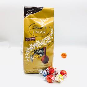 【长沙发货】Lindt Lindor瑞士莲混合5味进口巧克力软心球600g  5袋包邮