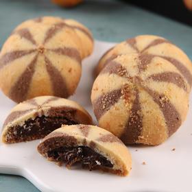 浆巧巧曲奇饼干 | 满满的巧克力酥酱  酥软醇香 早餐点心 午后消遣的理想之选