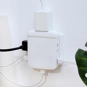 墙插精灵经典版6口USB快充多功能多口插座
