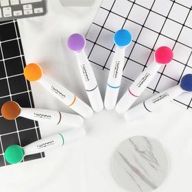 【遇水即溶,可以吃的水彩笔】7色植物技术水彩笔无毒儿童画笔套装女美术幼儿园学生绘画工具初学者