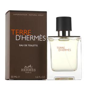 法国Hermès爱马仕大地中性男士香水50ml(EDT淡香型)