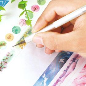 手帐刀笔刀胶带切割刀 创意美工笔式裁剪刀报纸手工 橡皮章雕刻刀