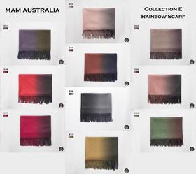 MAM Australia新款围巾E系列,渐变色