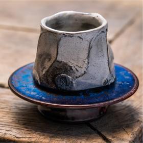 钧瓷丨粉引釉单杯