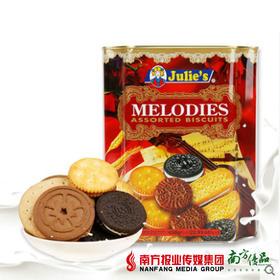 【次日提货】茱蒂丝美旋律 什锦饼干 650g/罐