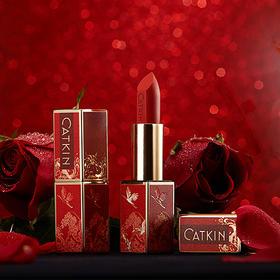 卡婷·点绛唇口红&礼盒装   雅致中国风,一支收藏级口红
