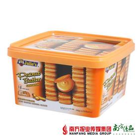 茱蒂丝纯花生酱 三明治饼干 540g/盒