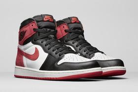 Nike Air Jordan 1 Bred Toe AJ1乔1 黑红脚趾 男鞋 555088-610