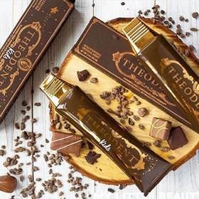 美国Theodent进口巧克力牙膏美白去渍修复牙釉质无氟薄荷