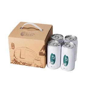 【罐装鲜米真五常】龙米·白色经典款丨纯正五常稻花香2号丨300g×4罐装