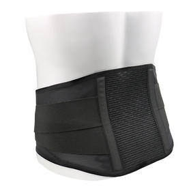 日本SIGMAX 标准黑色护腰带MAXBELT me black缓解腰疼腰椎间盘突出 透气舒适