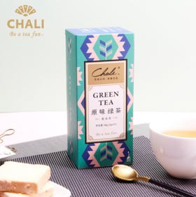 CHALI茶里 | 25袋原味绿茶 | 袋泡茶包 | 25袋/盒