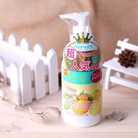 日本Nursery柚子卸妆乳 啫喱脸部 水卸妆乳液凝露180ml