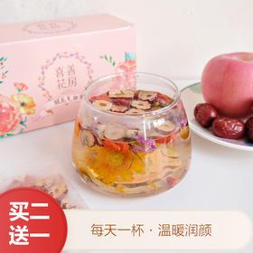 喜善花房 枸杞双花茶 120g/盒