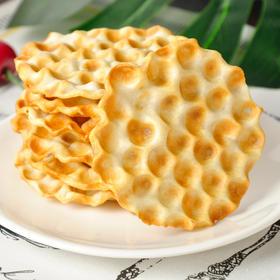 海玉石头饼 原味 发酵饼 小麦饼 粗粮饼 零食 2/4斤包邮