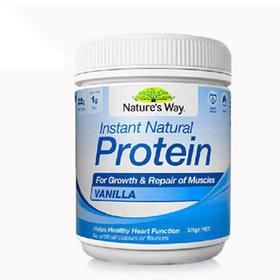 [品牌直发] Natures way 蛋白粉 375g/瓶 增强体制 缓解疲劳 天然有机大豆提炼(香草味、巧克力味)我是大美人精选 (AJYX)