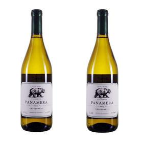 【秒杀】威熊霞多丽半干白葡萄酒2016(2瓶装)/Panamera California Chardonnay 2016
