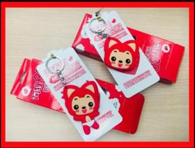 苏州市民卡●异形卡/阿狸红色软胶卡/支持公交地铁商户消费