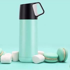 【艺龙】【超强24小时保温】创意超轻260g不锈钢保温杯,硅胶防滑底垫技术