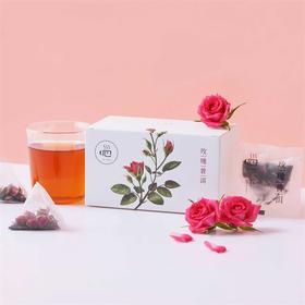 [玫瑰普洱]玫瑰清香 普洱醇厚 15包/盒 两盒装