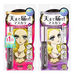 【推荐】日本 Kiss me奇士美 花漾美姬超激防水纤长 浓密睫毛膏6g 卷翘 防晕染