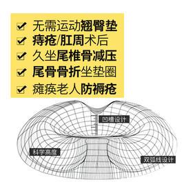 【组合更优惠】慢回弹记忆棉中空坐垫 Y