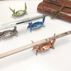 日本ahnitol螃蟹笔架