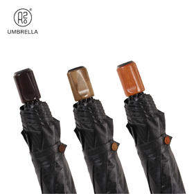 天开谷雨【木心三折伞】男士晴雨两用遮阳折叠伞