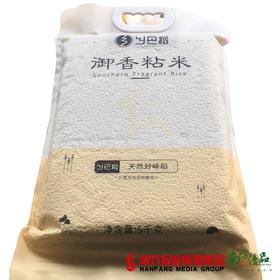 【次日提货】乡巴稻御香粘米  5kg/包  1包