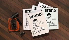 BranD杂志(共6期)国际品牌设计杂志期刊书籍 2018年合订本订阅